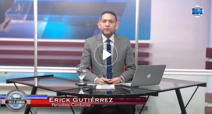 VÍDEO| Periodista Erick Gutiérrez maldice al presidente Medina y al procurador