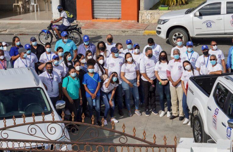 Indrhi intensifica apoyo a jornada de vacunación en Hato Mayor